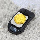 Mouse Görünümlü Dijital Terazi 600 Gr. 0.01 Gr. Hassasiyetli
