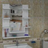 Arnetti Dicle Etajer (60 Cm) Beyaz