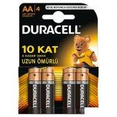 Duracell Alkalin Kalem Pil (Aa) 4 Lü 2a4 (4 Lü Pak...