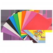 Bafix Yapışkanlı Eva A 4 Düz Renk Adhesive 10 Lu (...