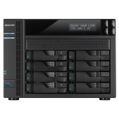 Asustor As 6208t 8 Slot Nas I 1.6ghz Quad 4gb 4xgbeth 2xesata 3xu