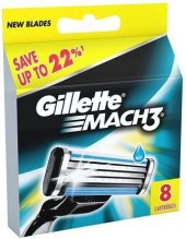 Gillette Mach3 8li Tıraş Bıçağı Yedek