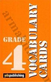 Vocabulary Cards Grade 4 Yds Publıshıng
