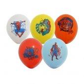 Spiderman R Mcek Adam Bask L Lisansl 50 Adet Balon