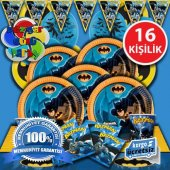 16 Ki İlik Batman Betmen Do Um G N Parti Malzemeleri Seti