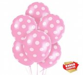25 Adet Pembe Zer Beyaz Puant Yel Balon