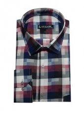 Lugon 0993 Uzun Kol Klasik Battal Erkek Gömlek