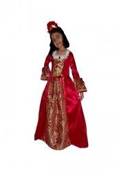 Prenses Kostümü Red Belle