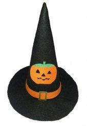 Bal Kabağı Figürlü Cadı Şapkası