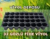 32 Gözlü Fide Viyolü (100 Adet) Tohum Çimlendirme Viyolü