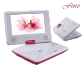 Goldmaster Fiore Portable Dvd Oynatıcı (Pembe)