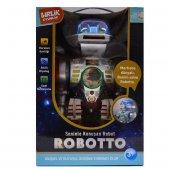 Robotto Sesli Komutla Çalışan Uzaktan Kumandalı Eğitim Robotu