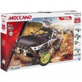 Meccano 25 Model Set Dağ Rallisi Spinmaster Lisanslı