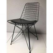 Tel Metal Sandalye