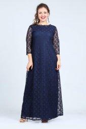 Kl201 Lacivert Abiye Elbise