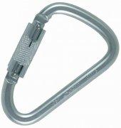 Ocun D Carebiner Twist Lock Steel Karabina