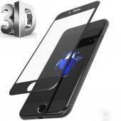 Iphone 6 3d Komple Kavisli Kırılmaz Full Cam Ekran Koruyucu