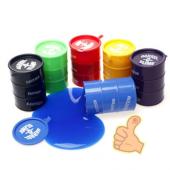 Eğlenceli Zift Varili Barrel Slime Asorti