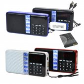 Hobimtek Şarjlı Metal Kasa Mini Fm Radyo Mp3 Player