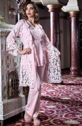 çiçekli Sabahlıklı Hamile Pijama Takım