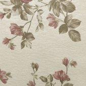Scarlet 1649 Vinil Çiçek Desenli Duvar Kağıdı