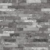 Vision 259 C Gri Taş Desenli Duvar Kağıdı