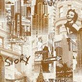 Vision 254 A Pop Art Duvar Kağıdı