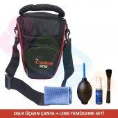 Canon Dslr Makineler Canon Üçgen Çanta + Temizlik ...