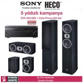 Sony Str Dn1080 + Heco Victa Prime 502 5.0 Set