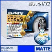 Matte Super X Series Kar 265 65 R16 Patinaj Çorabı Xx Large