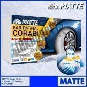 Matte Super X Series Kar 225 65 R18 Patinaj Çorabı Xx Large