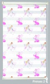 Mrs.pillow Prenses 2 Desenli Zebra Perde 60x200cm Ebadında