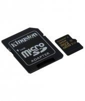 Kıngston 32 Gb Microsdhc Class U3 Uhs I 90r 45w + Sd Adapter