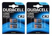 Duracell Ultra Lityum Cr2 Pil 2 Li 2 Paket (4 Adet)