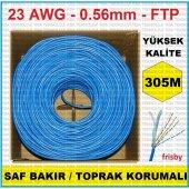 Frisby Fnw Cat630 305m 23 Awg Ftp Saf Bakır Topraklı Cat6 Kablo Yüksek Kalite