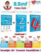 8.sınıf Tonguç Yıldız Üçlü Set Tonguç Akademi + Hediye Nar İngilizce Deneme