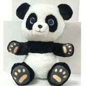 Peluş Karma Panda Beyaz Siyah 15 Cm Peluş Oyuncak Peluş Panda