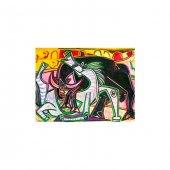 Corrida De Toros Kanvas Tablo 50x70 Cm