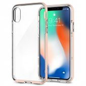 Iphone X Kılıf, Spigen Neo Hybrid Crystal Rose Gold