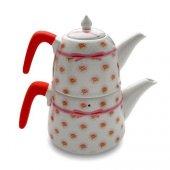 Vitale Porselen Çaydanlık Ct0014 Demlik Çaycı Çay