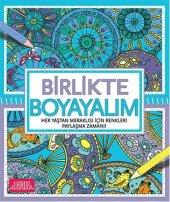 Birlikte Boyayalım (Her Yaştan Meraklısı İçin Renkleri Paylaşma Zamanı) Libros Kitap