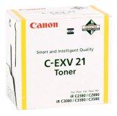 Canon Exv 21 Orjinal Sarı Toner Ir C2380 3380 2550 2580 2880 3080