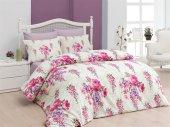 Belenay Çift Kişilik Uyku Seti Floral Fuşya