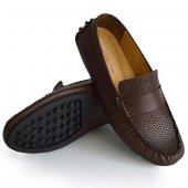 Mpp Hakiki Deri Kny Rok Kemerli Esnek Günlük Erkek Ayakkabı