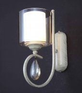 Aluna Lighting Krem Patine Aplik Fal 00650 1 Wb