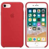 Apple İphone 7 8 Orjinal Silikon Arka Kapak Kırmızı Mqgp2zm A