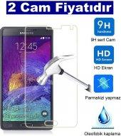 2 Adet Samsung Galaxy Note 3 Kırılmaz Cam Ekran Koruyucu