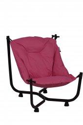 Pufumo Armut Bahçe Sandalyesi Pembe