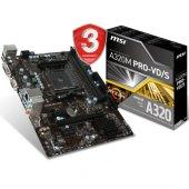 Msı A320m Pro Vd S Mb Ddr4 S+v+gl Am4 (Matx)
