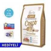 Brit Care Cocco Im Gourmand Ördek Somon 4 Kg + 2 Kg